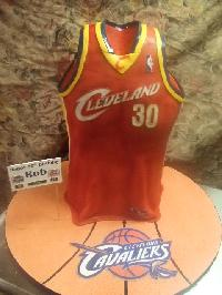 Cleveland Cavaliers grooms Cake
